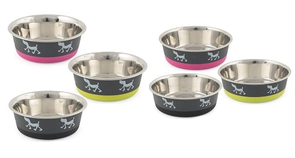 Fusion Stainless Steel Bowls - Dog