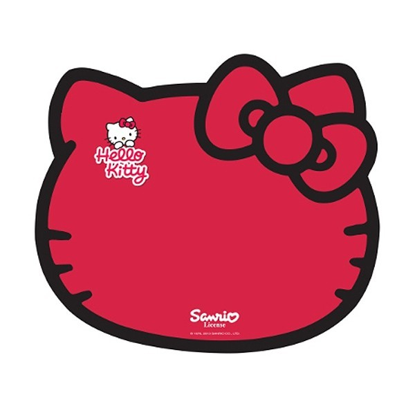 Hello Kitty Feeding Mat - Red Kitty