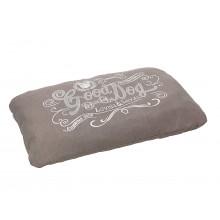 House Of Paws Good Dog Linen Cushion - Grey