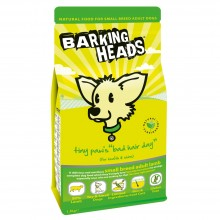 Barking Heads Tiny Paws Bad Hair Day Dog Food 1.5kg
