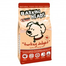 Barking Heads Turkey Delight Grain Free Dog Food 2kg