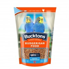 Bucktons Budgerigar Food Pouch 500g