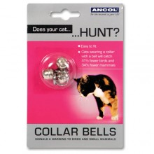 Cat Collar Bells - 3 pack