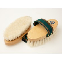 Equerry Wooden Body Brush - Goat Horse
