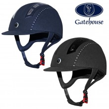 Gathouse Chelsea Diamante Suede Pro Riding Hat