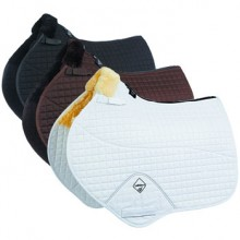 LeMieux Lambskin Close Contact Jumping Square Half Lined