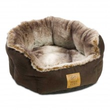 House Of Paws Arctic Fox Snuggle Bed