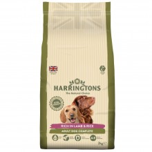 Harringtons Lamb & Rice Dog Food 2kg