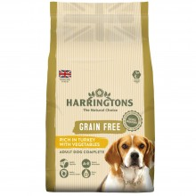 Harringtons Grain Free Turkey & Vegetable Dog food 1.75kg
