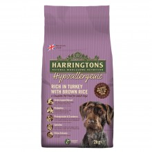 Harringtons Hypoallergenic Turkey & Brown Rice Dog Food 2kg