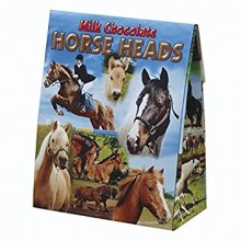 Milk Chocolate Horse Heads