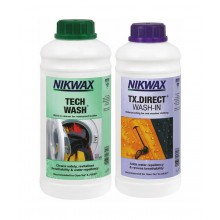 Nikwax Tech Wash An TX. Direct Wash-In Liquid (Pack of 2) - 1 Litre
