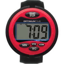Optimum Time Event Watch - Red