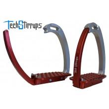 Tech Stirrup Venice Stirrups-Red