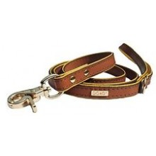 DO&G Precious Stones Dog Collar Brown/Gold