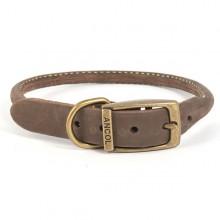 Timberwolf Leather Round Collar
